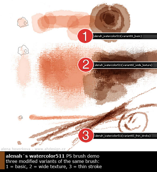 PS watercolor brushes