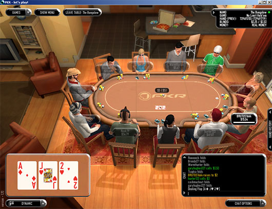 The Influence of PKR-Poker upon Interior Design 3D