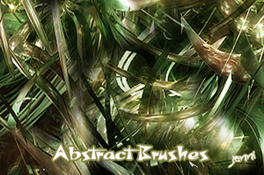 Abstract Brushes Set 13