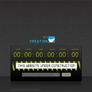 Under Construction Template with Countdown and Send Email