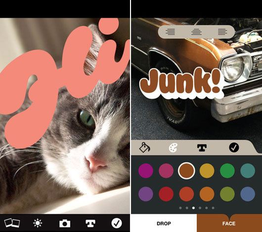 Make your Photos Well-Presentable with Typofaces - Photolettering App Review