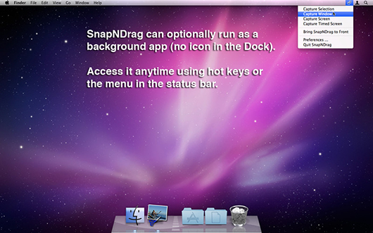 Manage & Import Your Exclusive screenshots in an artistic way - SnapNDrag Pro Mac App
