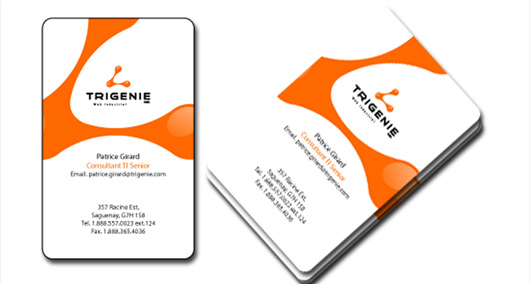 business card design by Rongdhonu Graphics