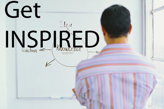 Find new sources of inspiration