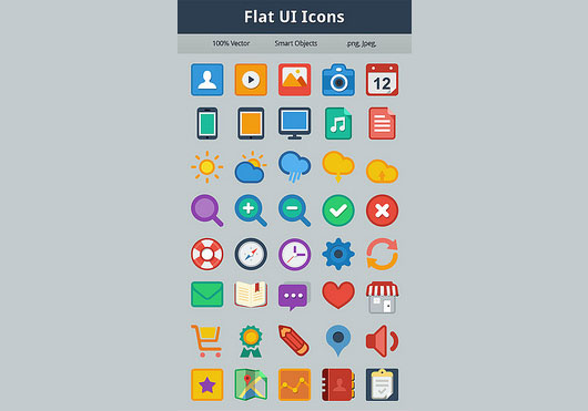 Flat UI Icons Preview