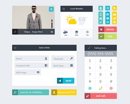 Flat UI by Andy Law