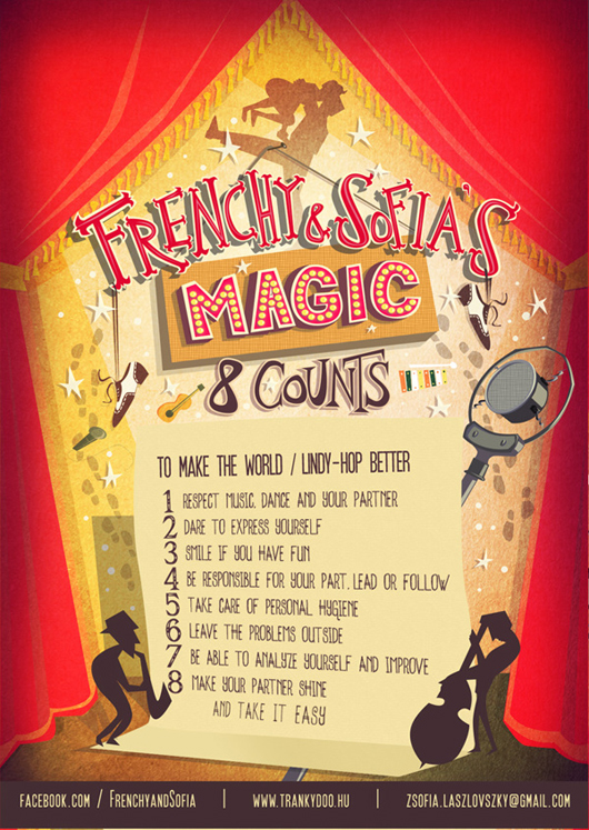 Flyer for Frenchy and Sofia