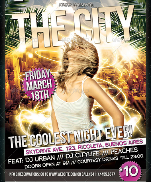 The City - Flyer and Poster Design