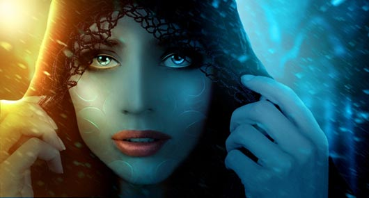 Create a Mysterious and Fantasy Woman Portrait in Photoshop