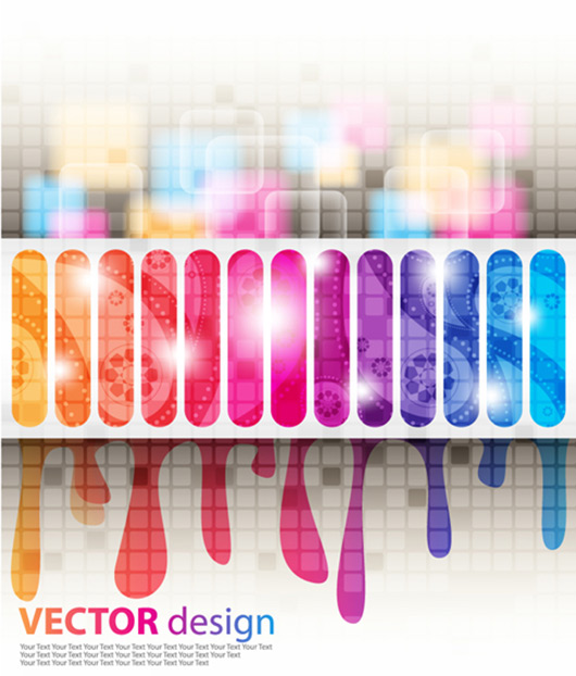 Free Colorful background vector graphics