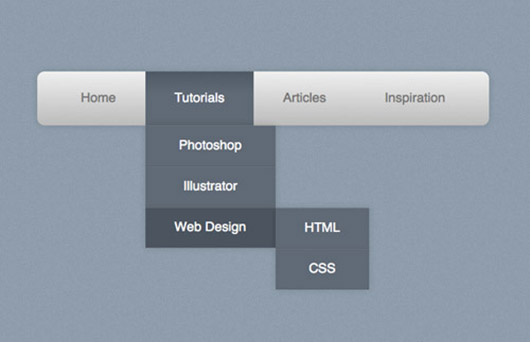 How To Create a Pure CSS Drop Down Menu