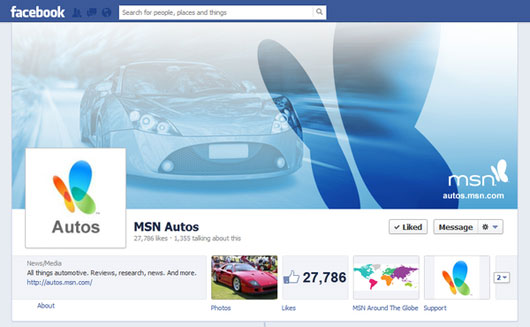MSN Facebook Cover Images