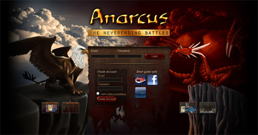 Anarcus the neverending battles