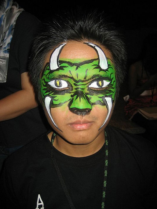 Face Painting - Monster, Halloween