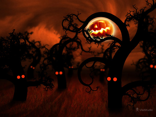 Halloween-In-The-Midnight-Forest
