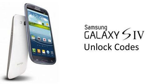 Unlock Codes for Samsung S4- You Must Try it