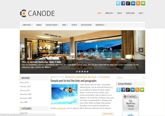 Canode