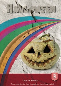 Vintage Halloween Poster Tutorial in Photoshop CS6 with PSD