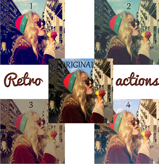 Retro Actions for Photoshop -8-