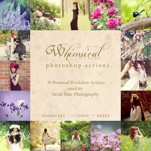 Whimsical Photoshop Actions