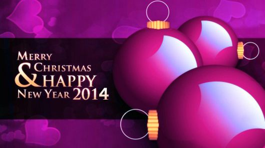 2014 Happy New Year Christmas Wallpapers