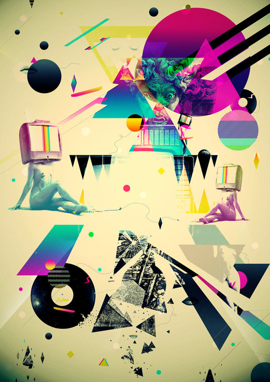 Explosion of Colors and Shapes