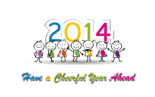 Have A Cheerful Year Ahead Wishes