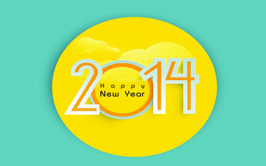 Lovely 2014 Horse Year Wishes Wallpaper