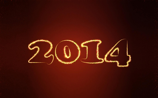 New Year 2014 HD Wallpaper Free Download