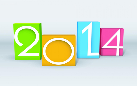 Wishes of New Year 2014 Greetings