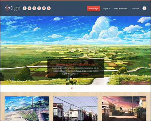 SIGHT FREE RESPONSIVE BLOGGER TEMPLATE