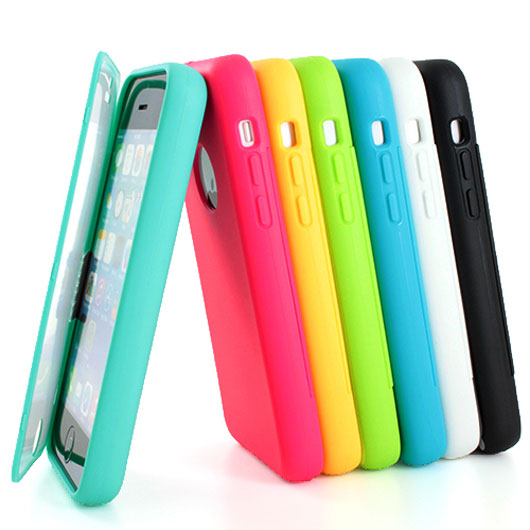 Colorful TPU Wrap Up Case Cover