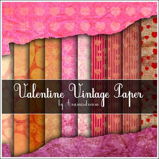 18 Heart Warming Textures for Valentine's Day Free for Download