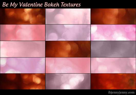 Be My Valentine Textures
