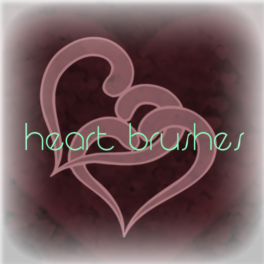 Heart Brush Pack