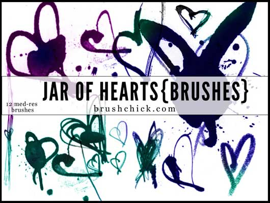 Jar of Hearts Brush Pack