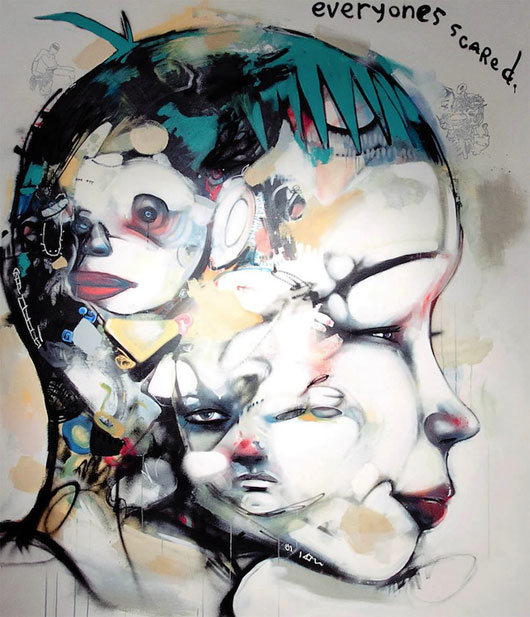 Mixed Media Paintings and Illustrations
