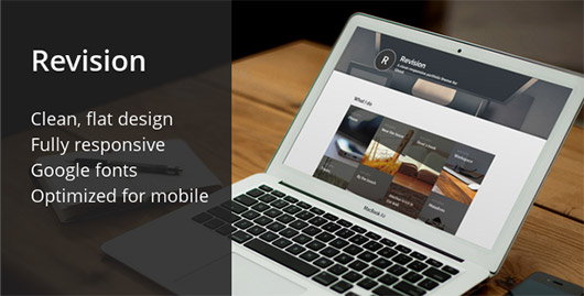 Revision: responsive theme for Ghost