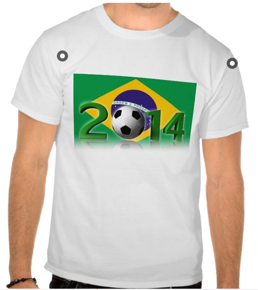 Soccer World Cup 2014 T-shirts