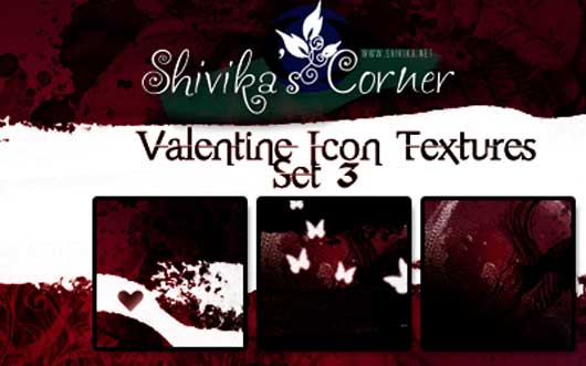 Valentine Icon Textures Set 3