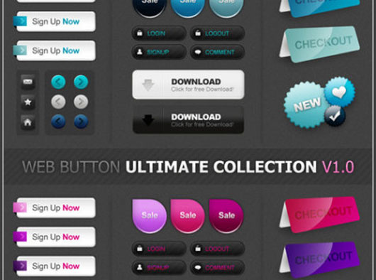 Web2Style Buttons Lab
