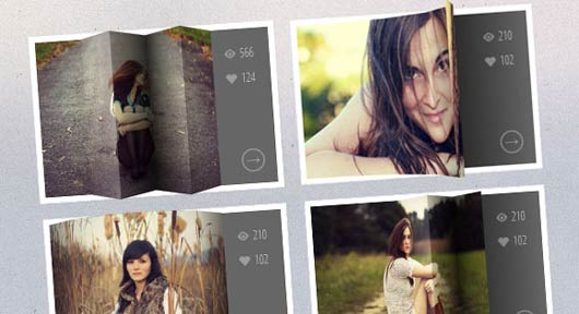 3D Thumbnail Hover Effects with CSS3 and jQuery