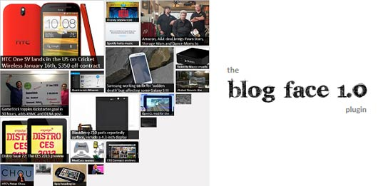 Blog Face – jQuery Plugin for Brick-Wall Look Sites