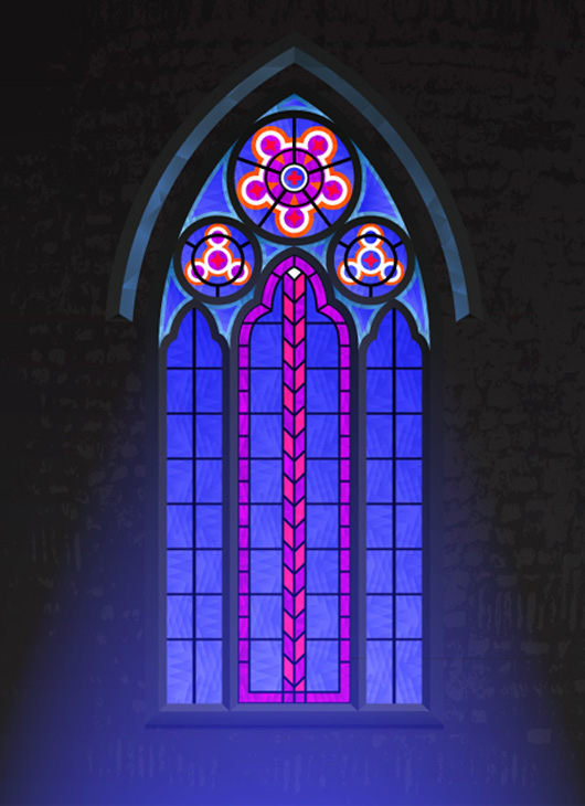 How to Create a Gothic Window Using ColliderScribe and Adobe Illustrator