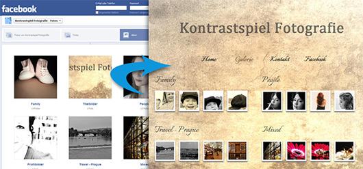 How to Load pictures from Facebook with jQuery