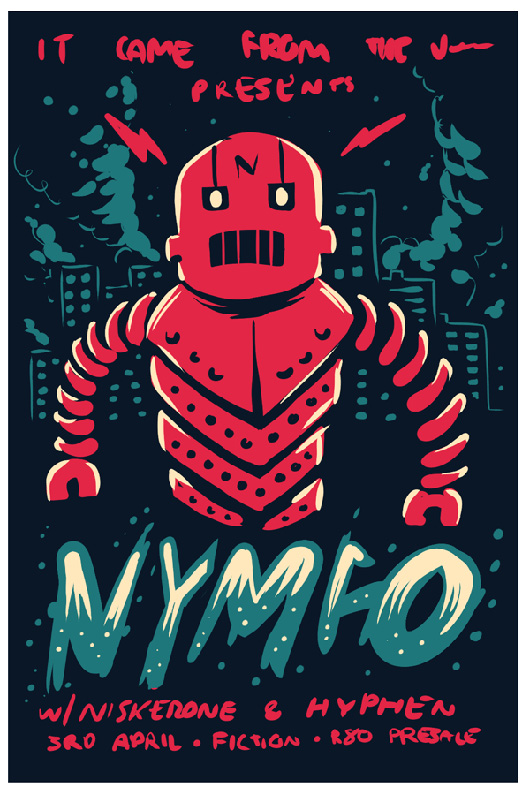 It Came From The Jungle Presents: NYMFO