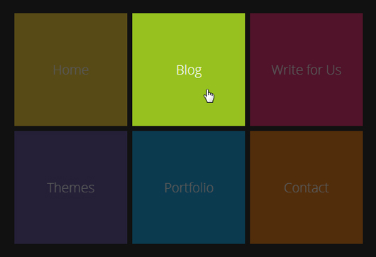 Create a Windows 8 Animated Menu with HTML/CSS and jQuery