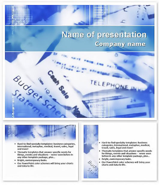 Directory Information Free Keynote Template
