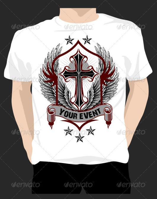 T-shirt with Church Event