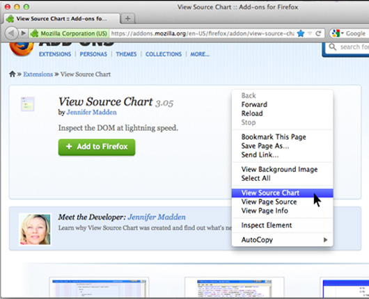 View Source Chart